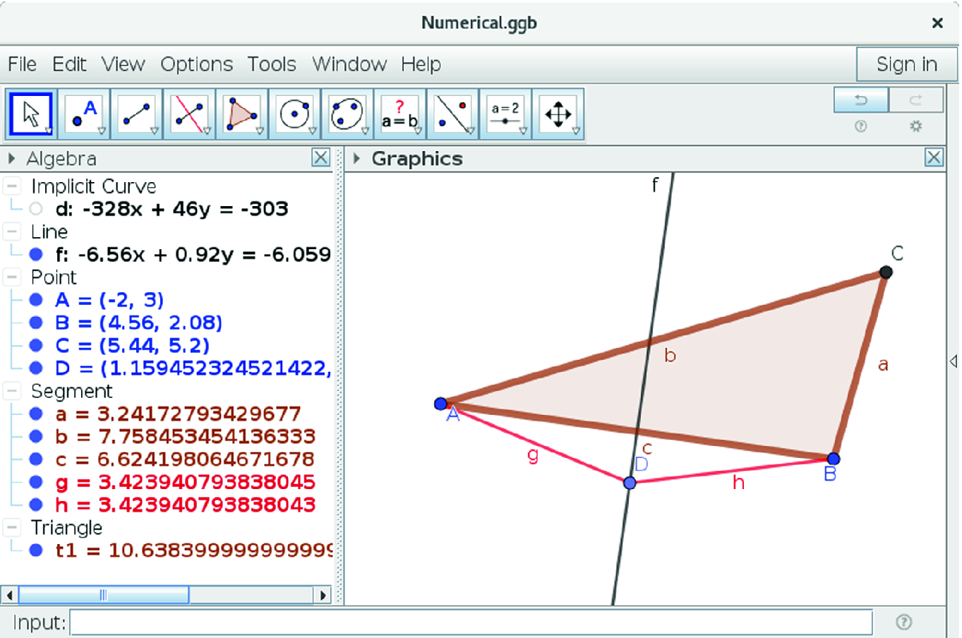 Using Automated Reasoning Tools to Explore Geometric ... on
