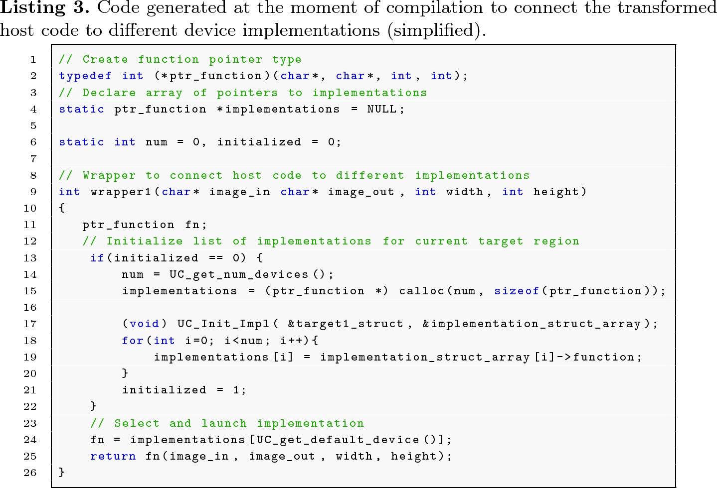 OpenMP Dynamic Device Offloading in Heterogeneous Platforms