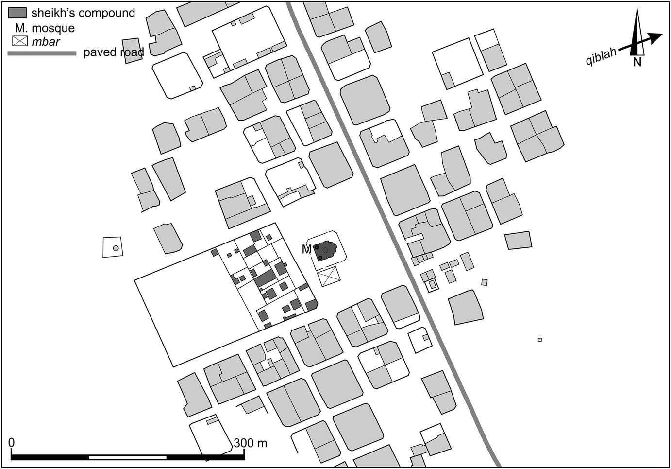 Plan D Une Case Africaine the vernacular grid in senegal: the popularization of an