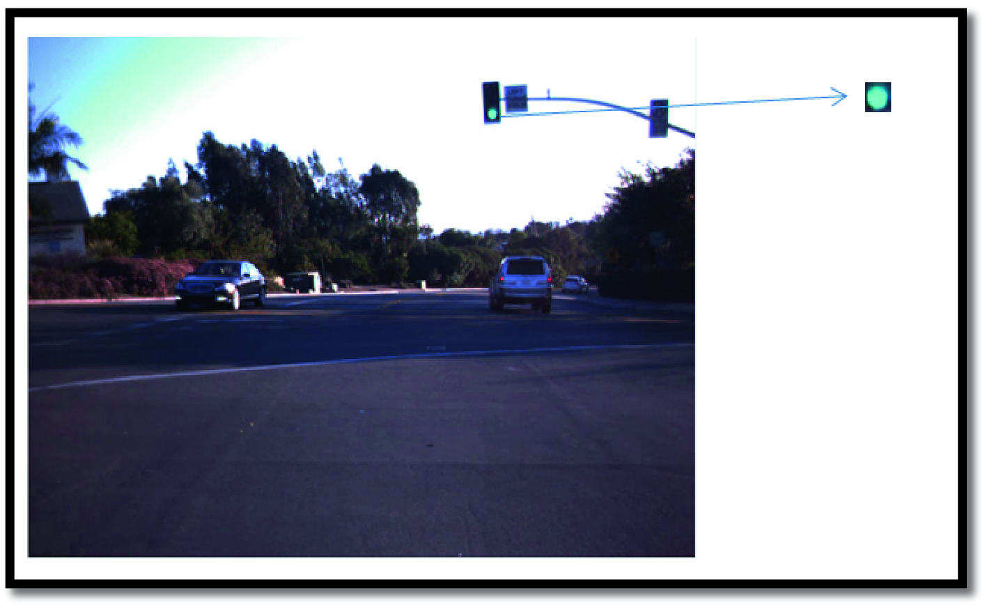 Traffic Light Detection and Recognition Using Image
