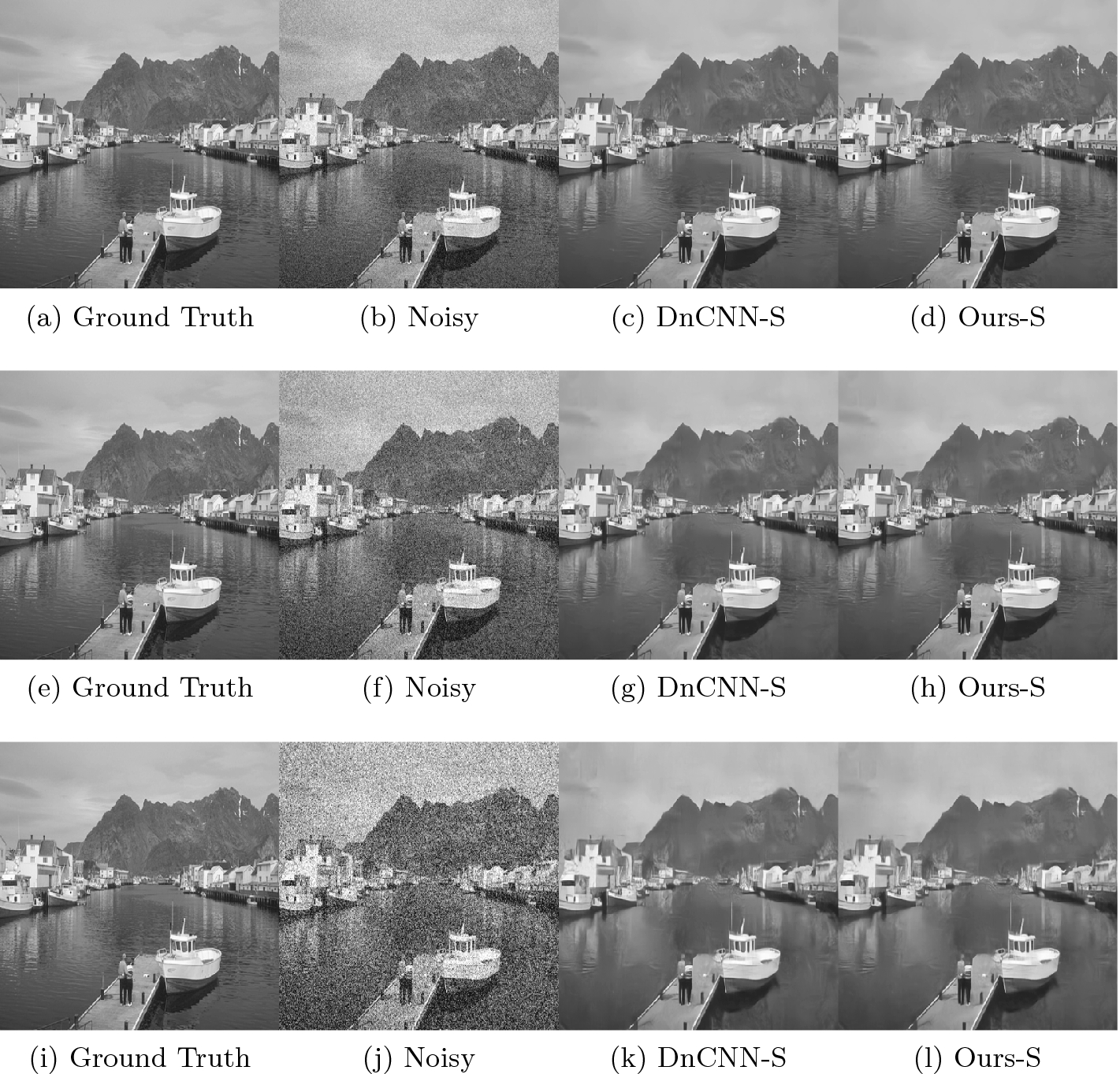 Improvement of Image Denoising Algorithms by Preserving the