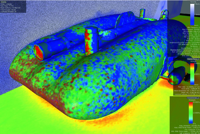 Towards a Simulation Framework for Underwater Intervention