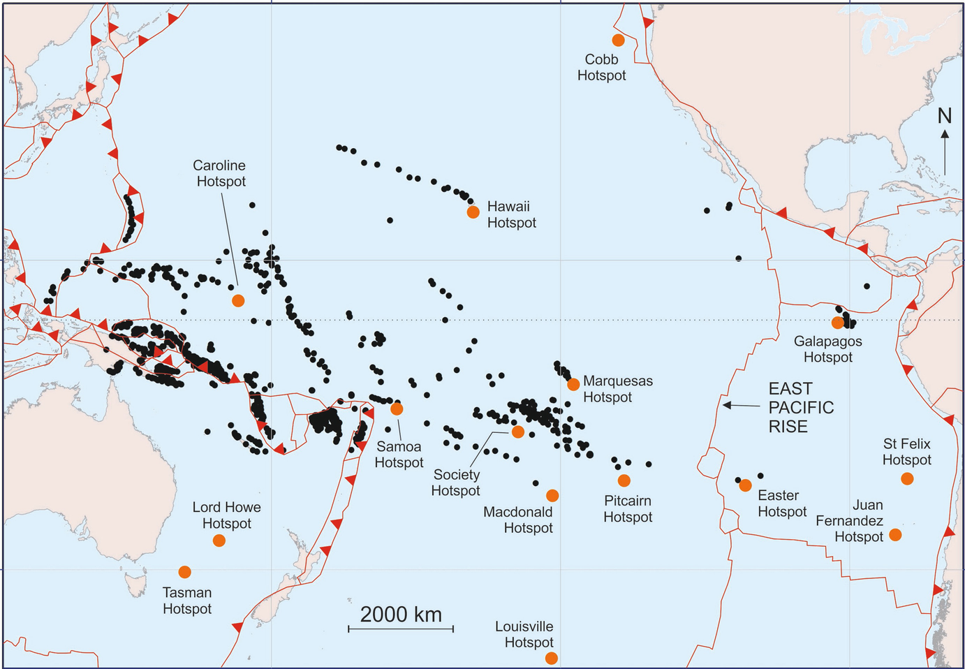 Image of: Islands In The Pacific Settings Distribution And Classification Springerlink