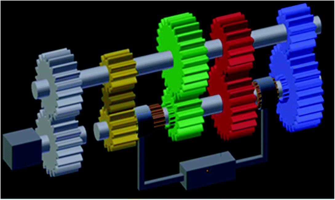 Realization of a 3D Gearbox Model Through Marker-Based Augmented ...
