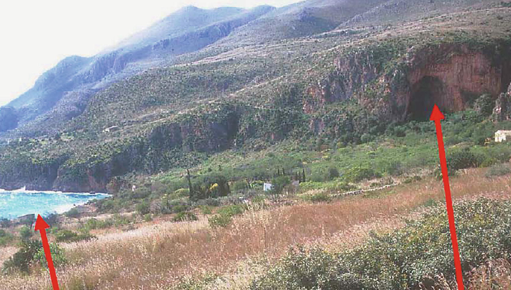 Dynamics Isola Della Scala italy: the archaeology of palaeoshorelines, coastal caves