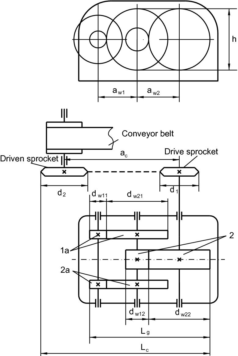 BA-3 PIC Design Bevel Gear Box 1.1 Ratio