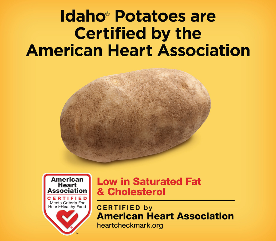 Adult Bib in Red Potatoes