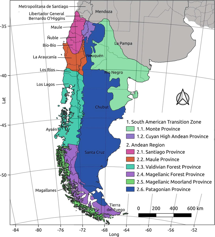 Patagonia Cartina Geografica.Vegetation Of Patagonia Springerlink