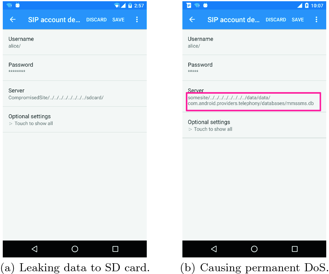Understanding Android Voip Security A System Level Vulnerability Assessment Springerlink