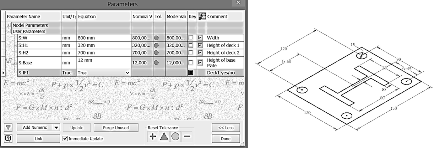 KBE-Modeling Techniques in Standard CAD-Systems: Case Study