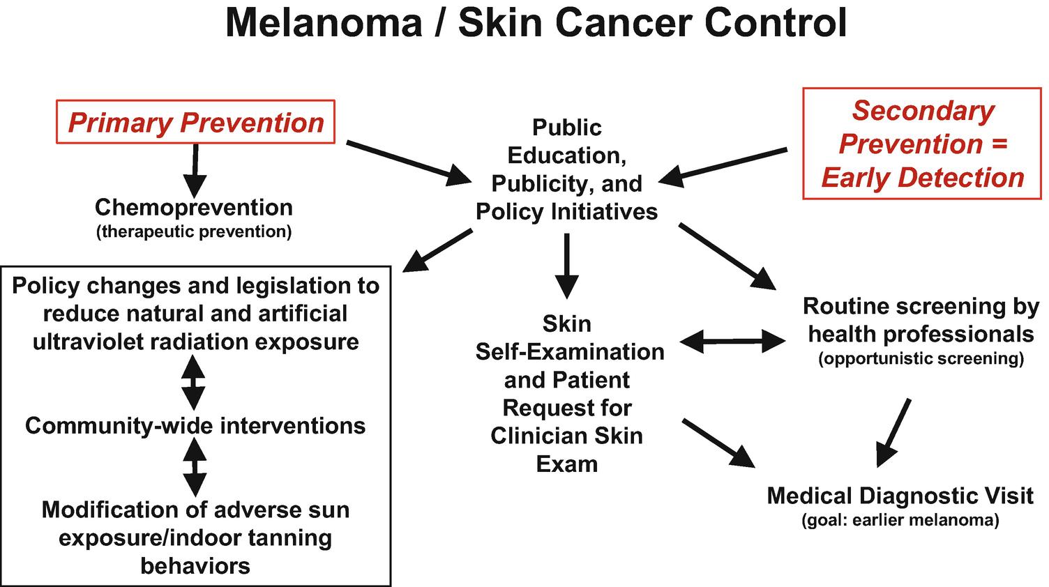 Melanoma Prevention And Screening Springerlink