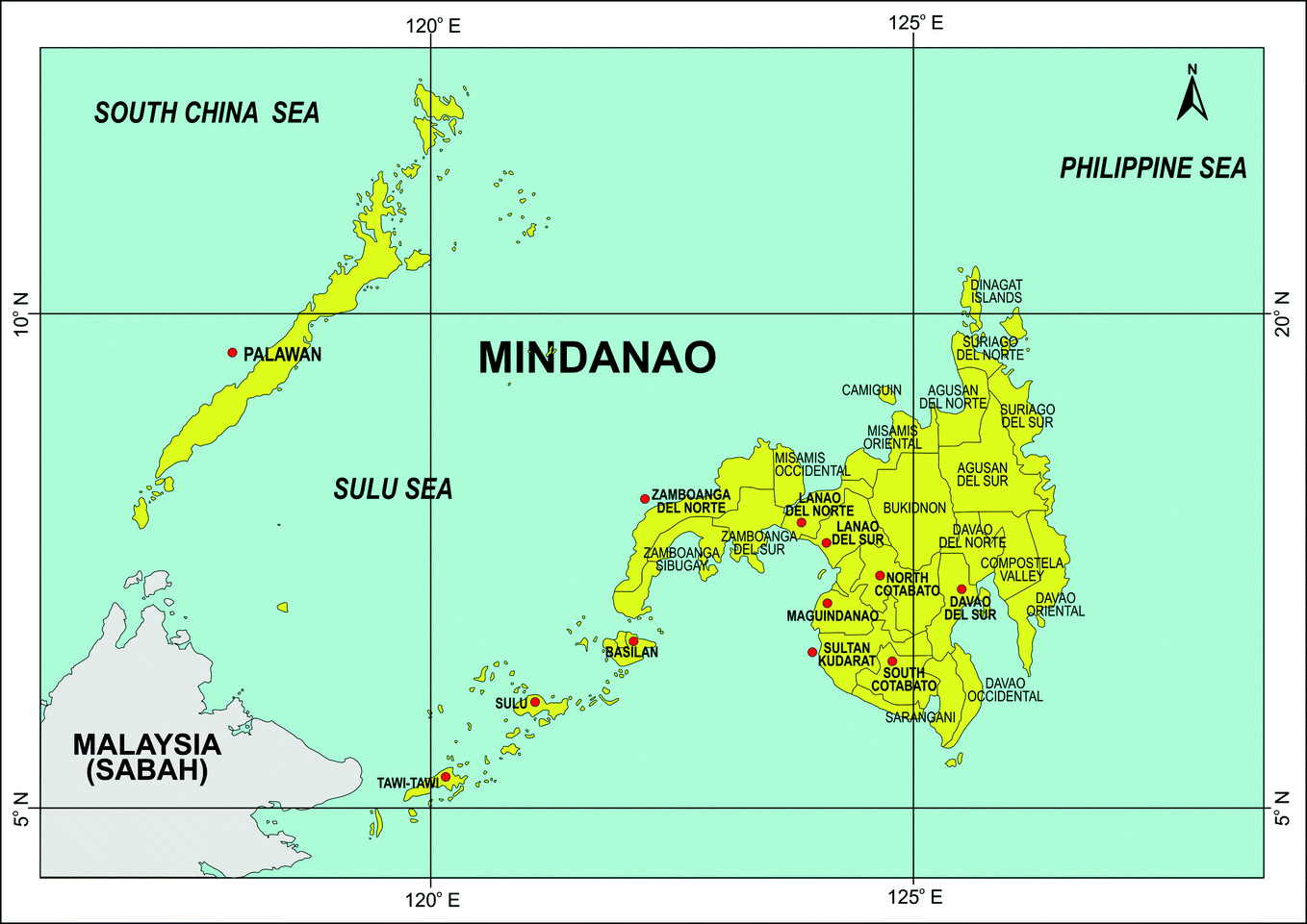 The Study Area: Mindanao and the Bangsamoro Conflict Communities