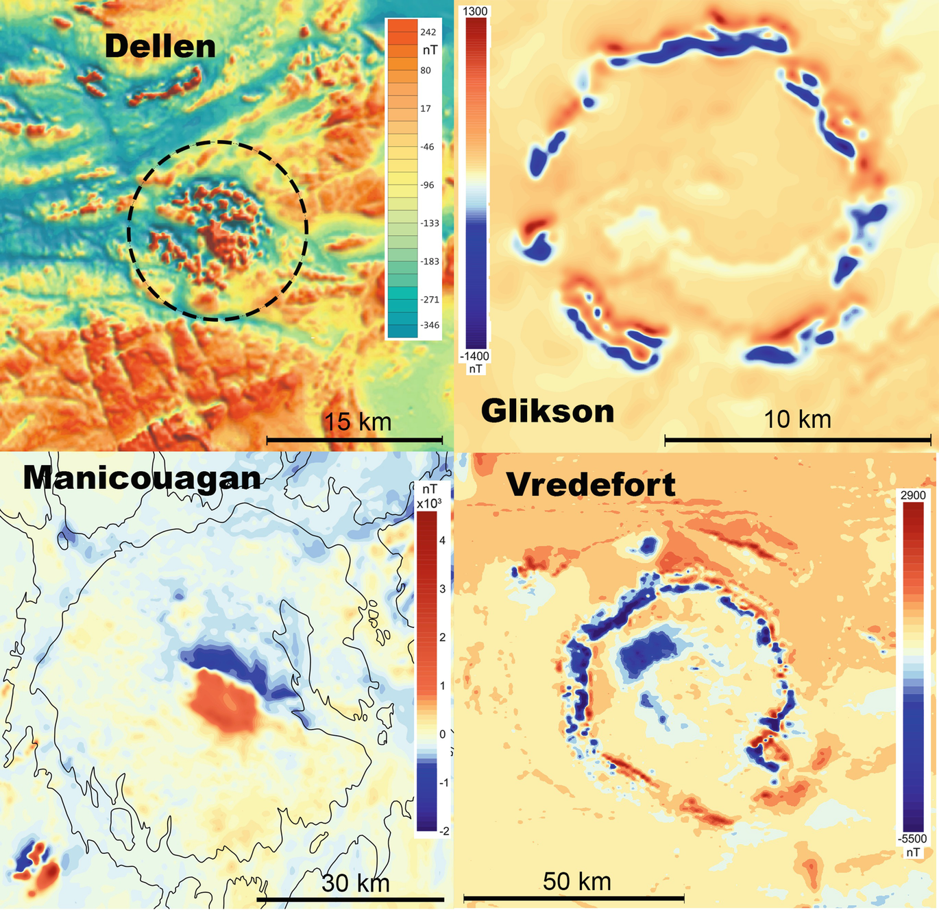 Magnetic Signatures of Terrestrial Meteorite Impact Craters: A ... on