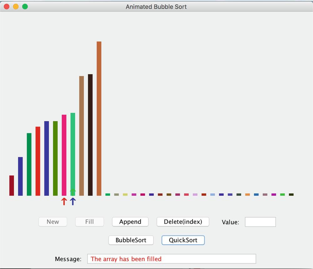 Visualizing Sorting Array Algorithms   SpringerLink