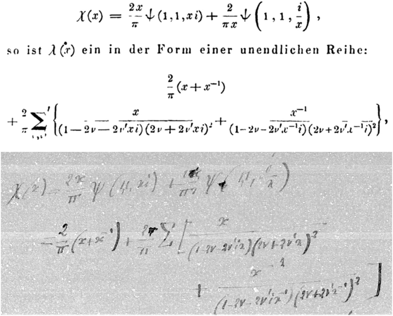 Separation Lame De Bois hermite and lipschitz: a correspondence and its echoes