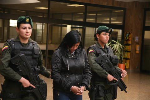 Women Engaged in Violent Activity as Terrorists, Guerrillas and