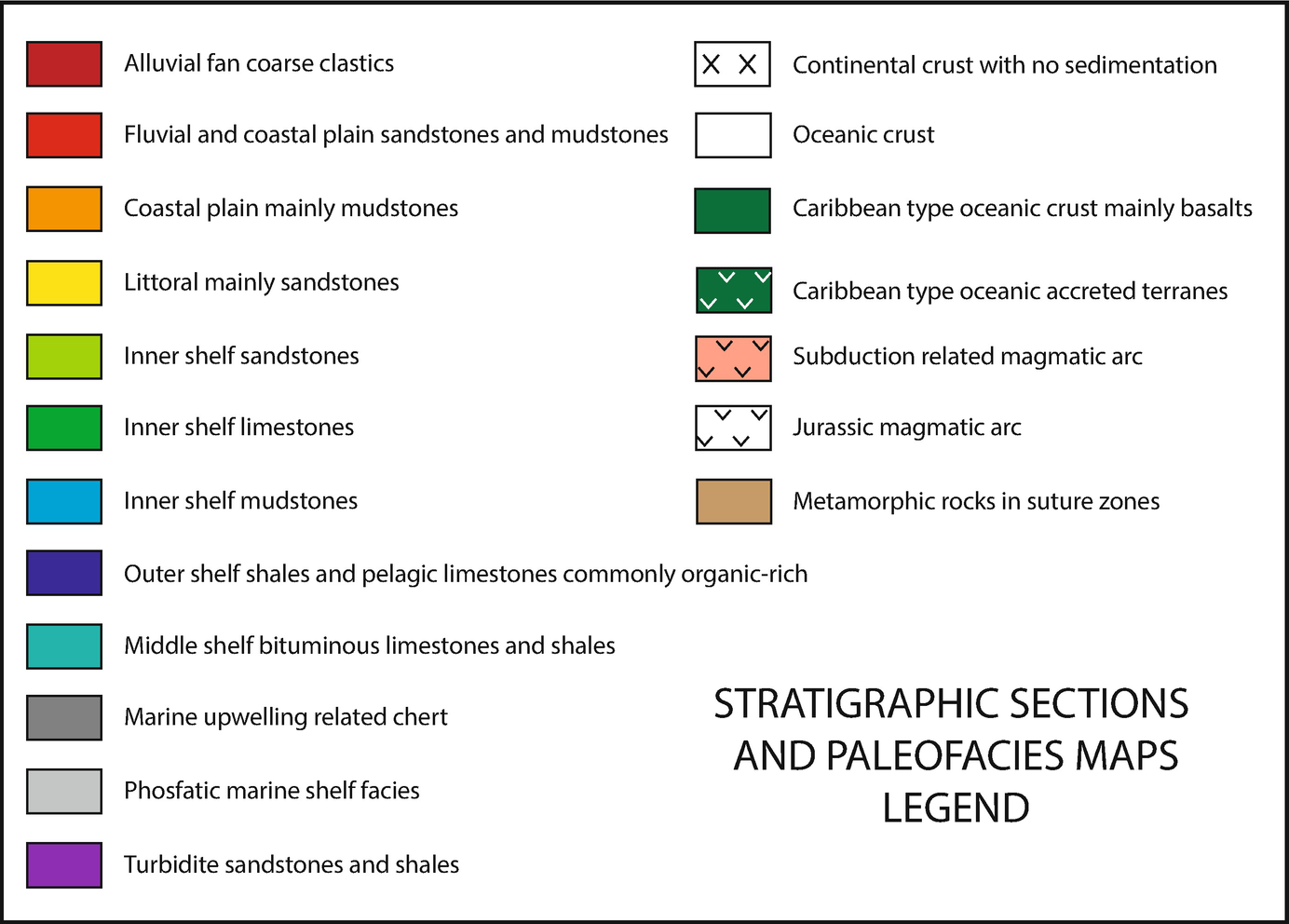 Cretaceous Stratigraphy and Paleo-Facies Maps of