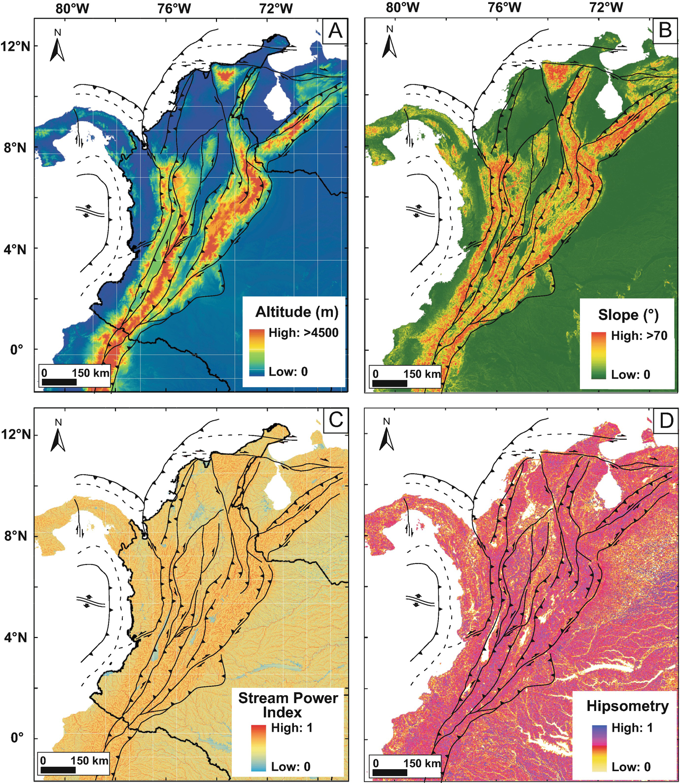 Morphotectonic And Orogenic Development Of The Northern