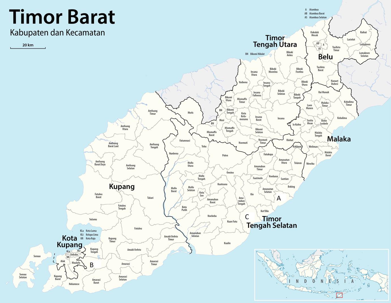 Disadvantaged Communities in Indonesian Semi-Arid Regions: An