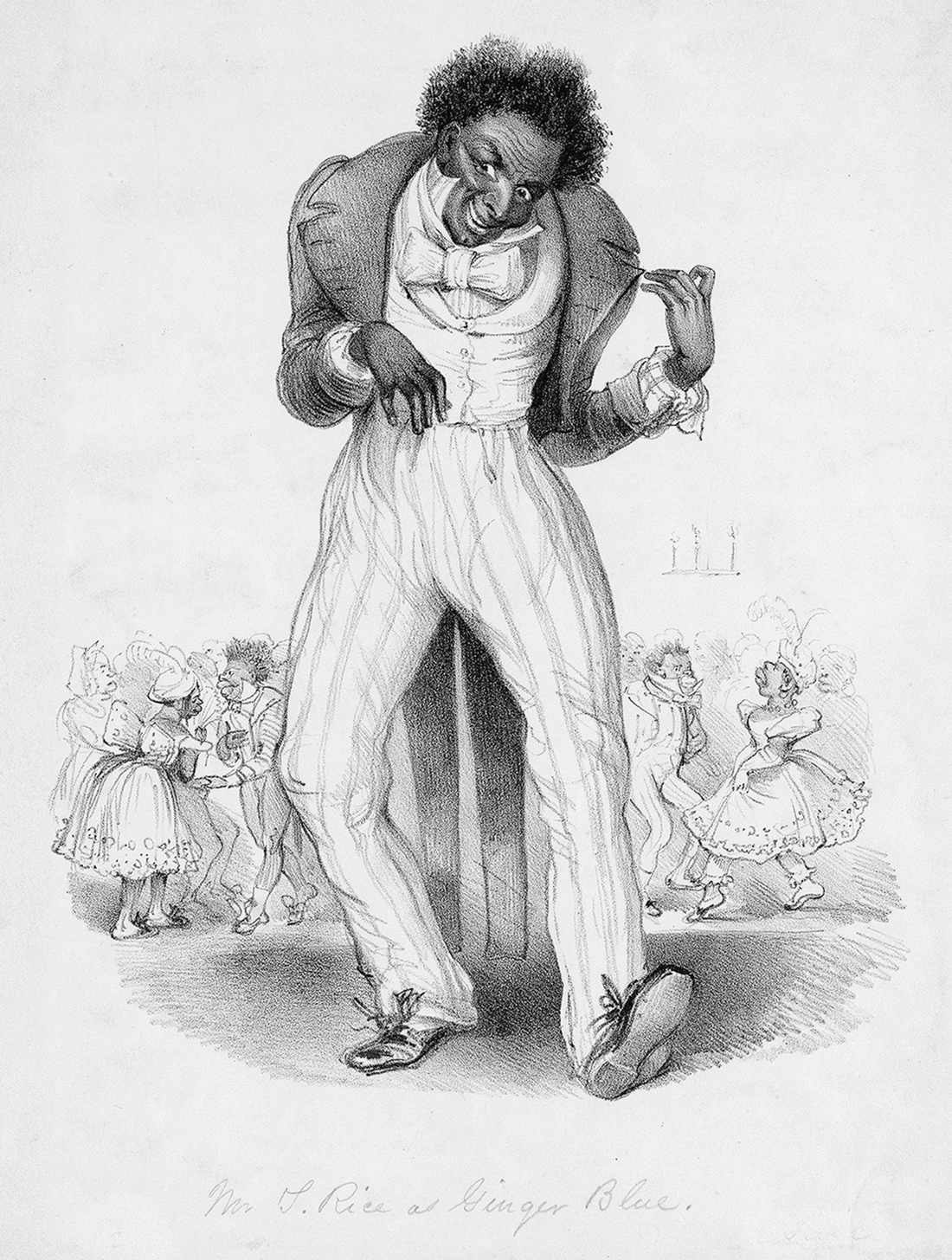 From Allegorical Type and Sartorial Satire to Minstrel Dandy