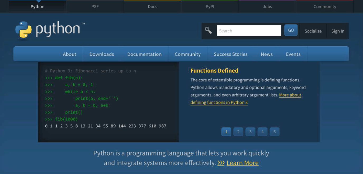 A Tutorial Introduction to Python | SpringerLink