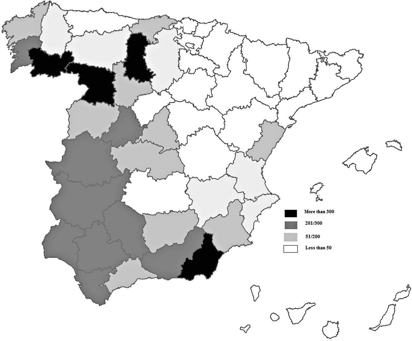 job promotion and labour turnover among spanish workers in west 1950s Dresses map 3 1 stock of assisted emigrants to west germany per 10 000 inhabitants from 1960 to 1973