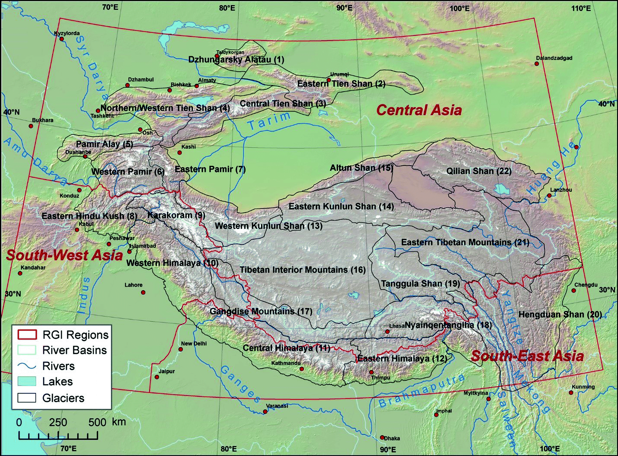 Status and Change of the Cryosphere in the Extended Hindu Kush ... on