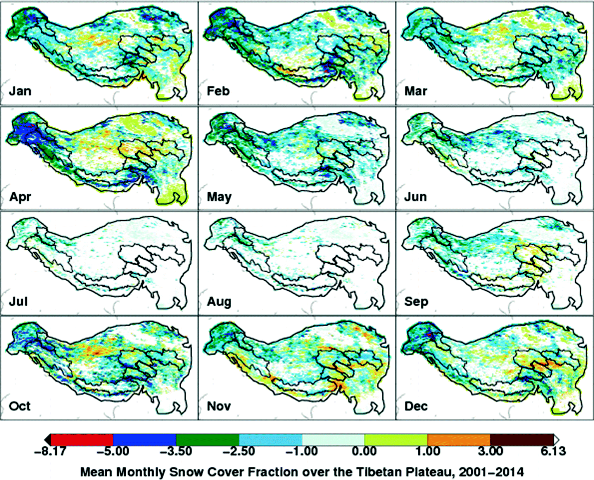 Status and Change of the Cryosphere in the Extended Hindu