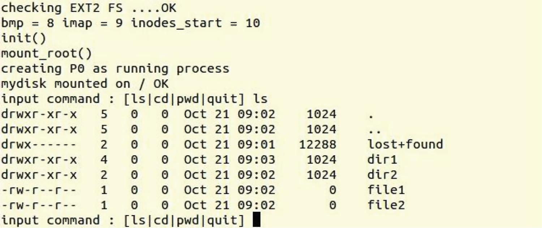 EXT2 File System | SpringerLink