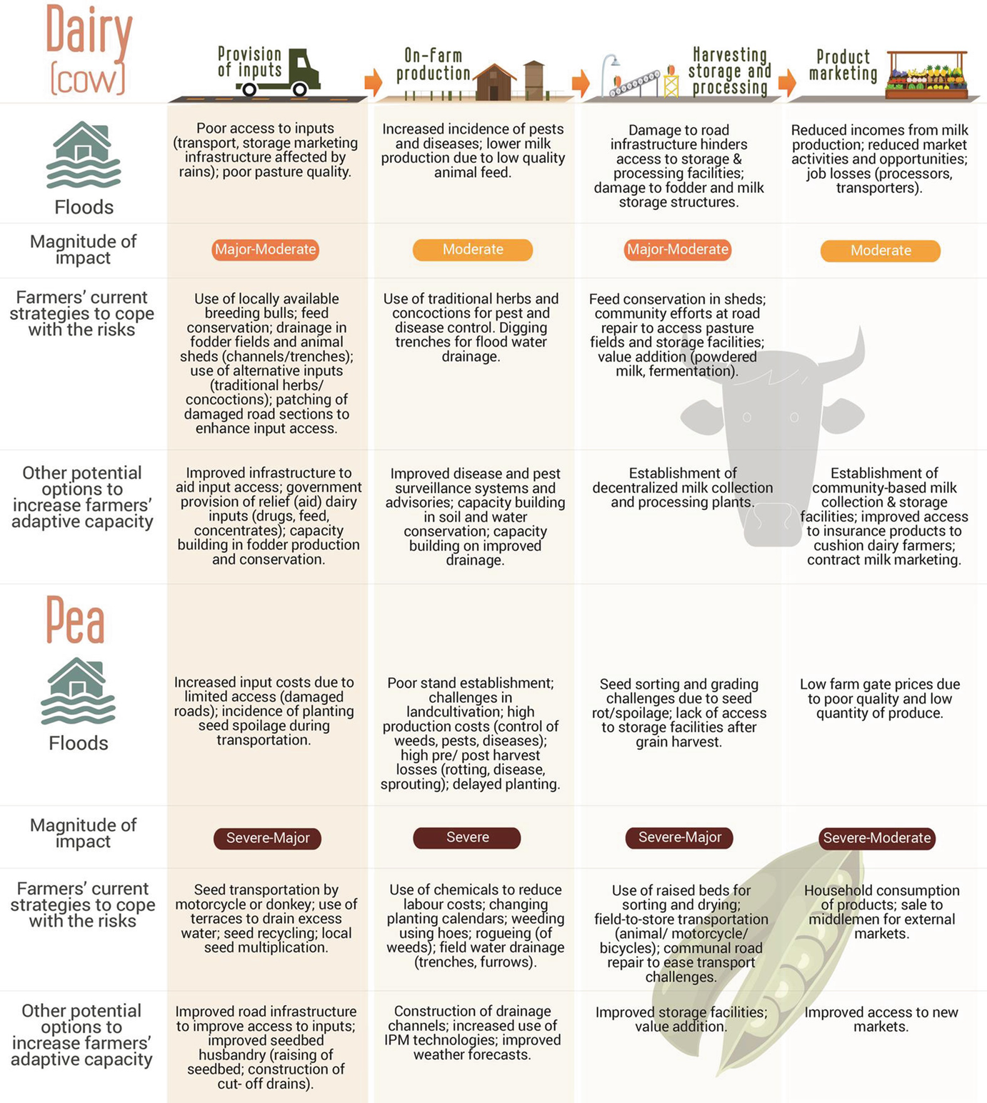 Climate-Smart Agricultural Value Chains: Risks and Perspectives