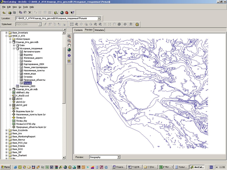 Integrated Ecological Survey of the Tailing Ponds of Koshkar