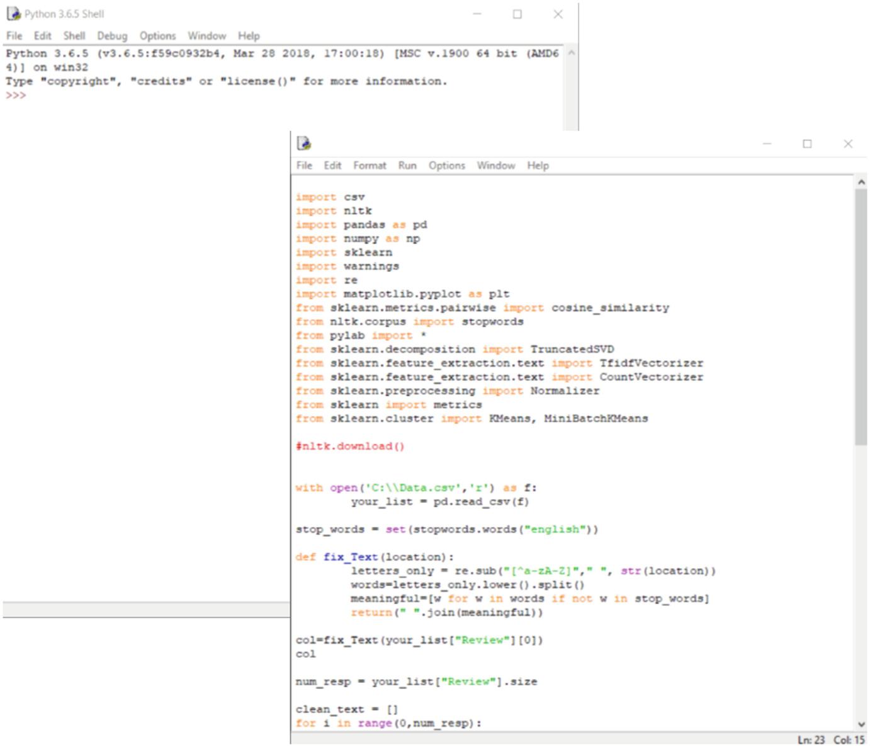 Latent Semantic Analysis (LSA) in Python | SpringerLink
