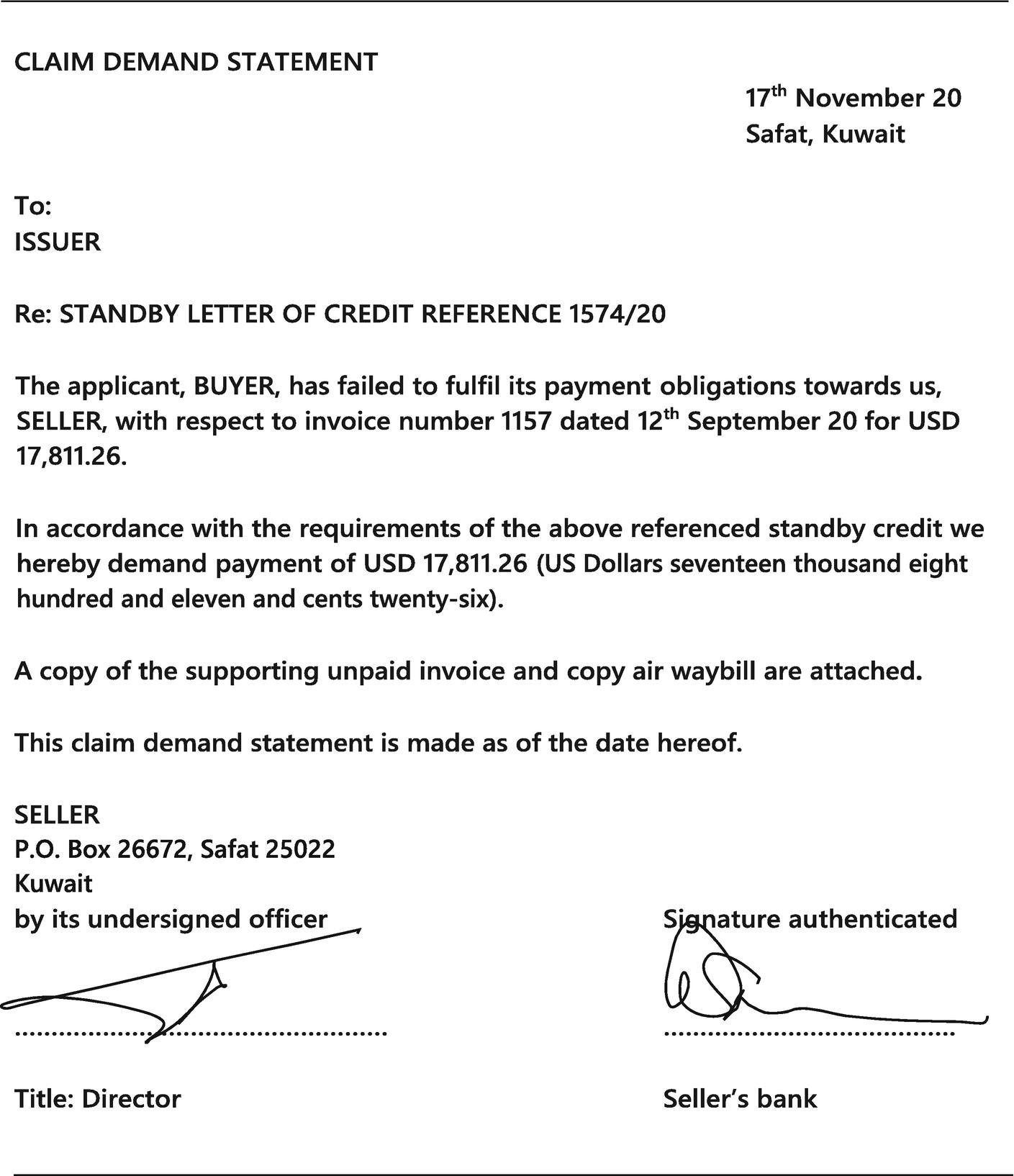 Standby Letters of Credit | SpringerLink
