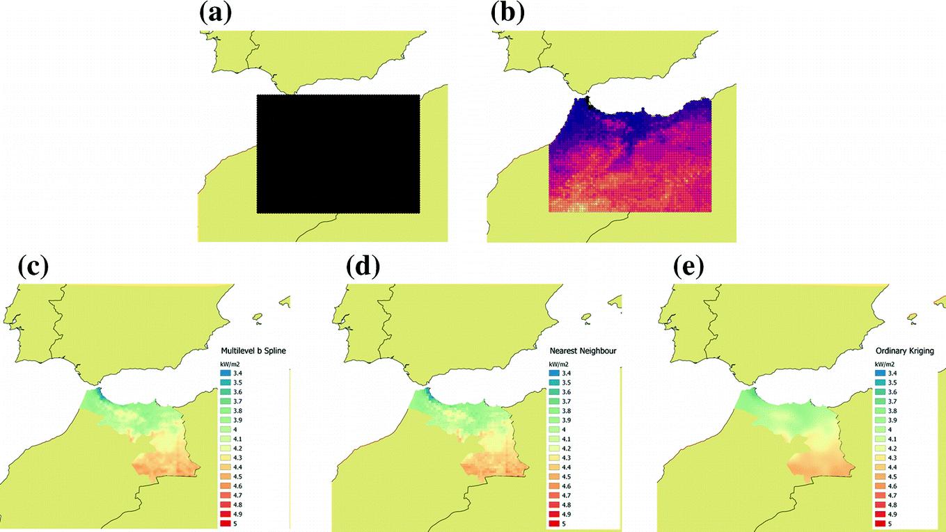 Basics on Mapping Solar Radiation Gridded Data | SpringerLink