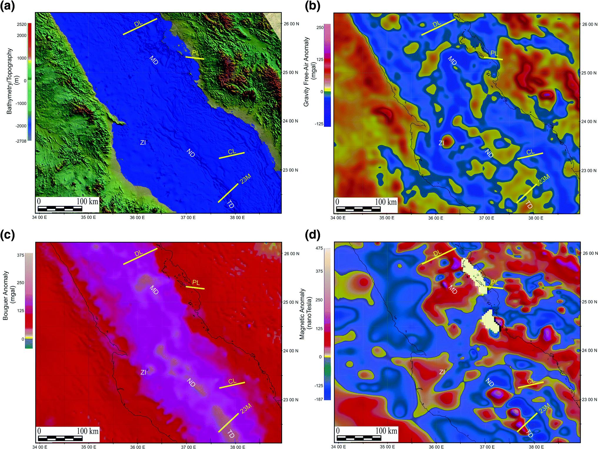 Rifting and Salt Deposition on Continental Margins
