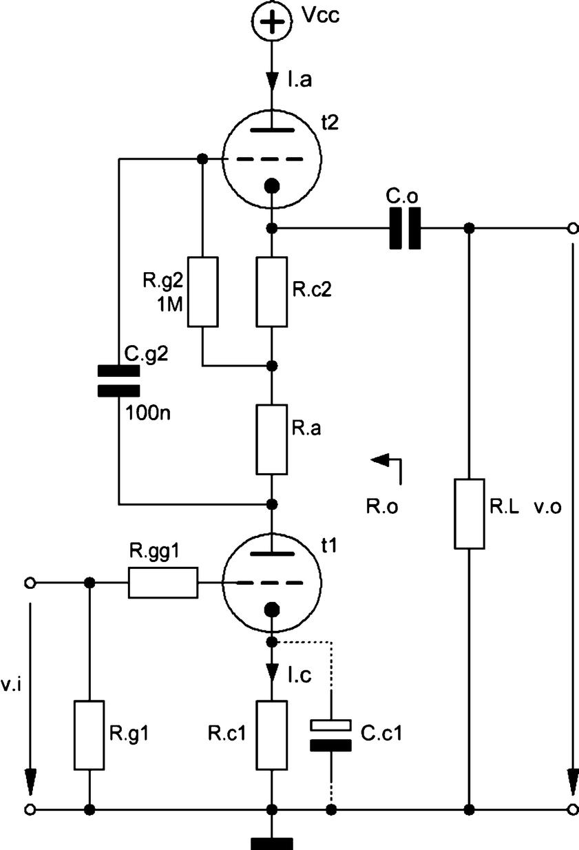 6sn7 Srpp Schematic