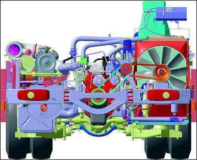 Modeling Of Six Cylinder Diesel Engine Crankshafts To Verify Belt Load Limits Springerlink