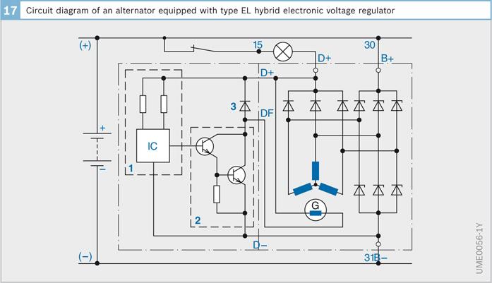 alternator external regulator wiring diagram 1963  wiring
