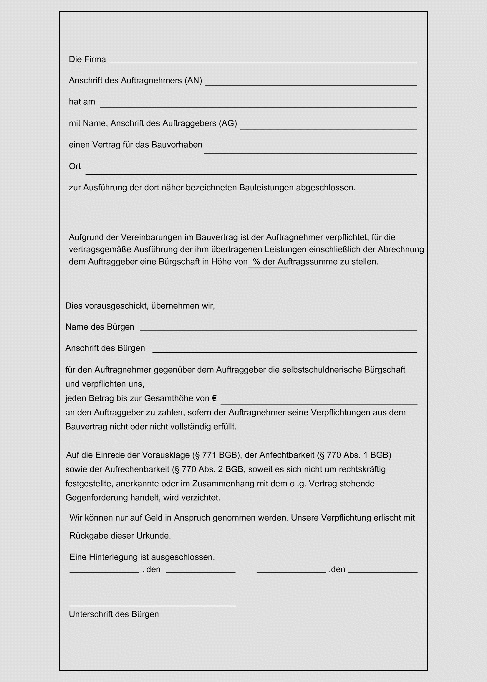 Mitwirkung Bei Der Vergabe Der Bauvertrag Springerlink