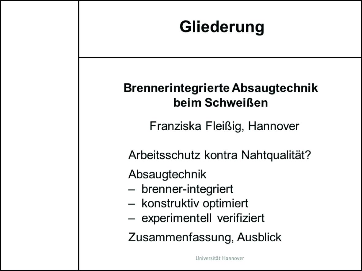Das Präsentieren Des Technischen Berichts Springerlink