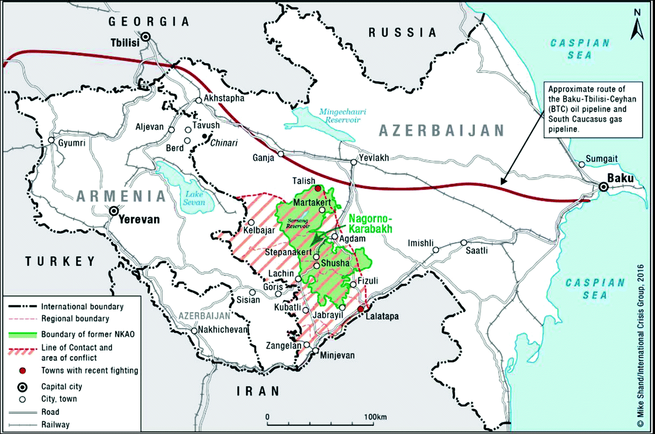 Nagorno Karabakh The Genesis And Dynamics Of The Conflict Springerlink