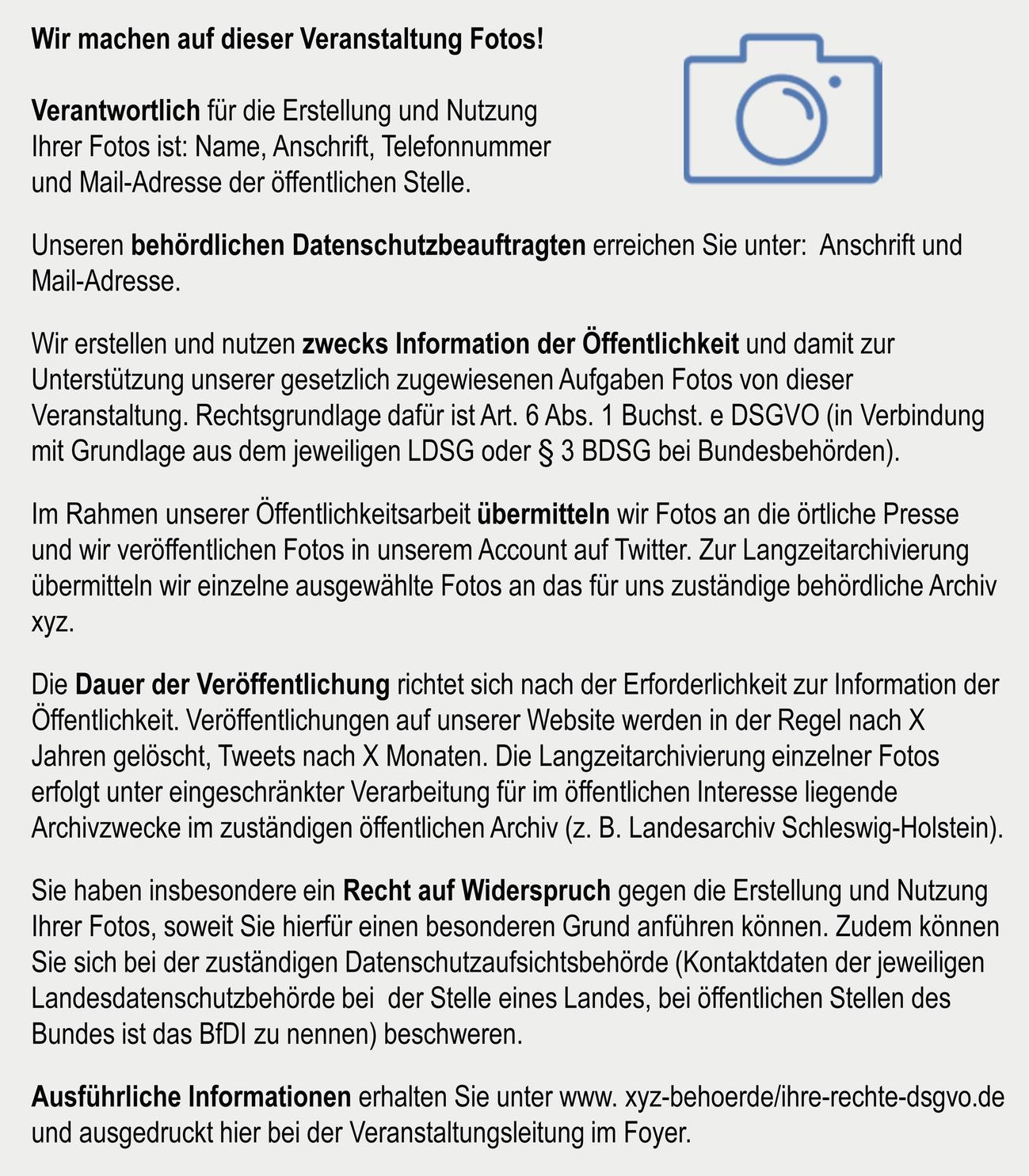 Datenschutz Bei Personenbezogenen Inhalten Der Offentlichkeitsarbeit Springerlink