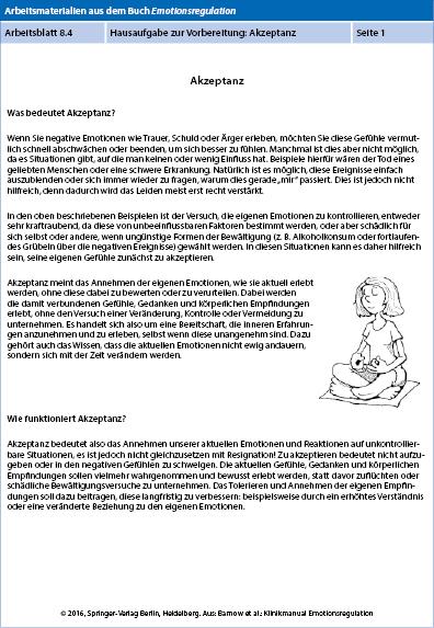 Fein Emotionsregulation Arbeitsblatt Galerie - Mathe Arbeitsblatt ...