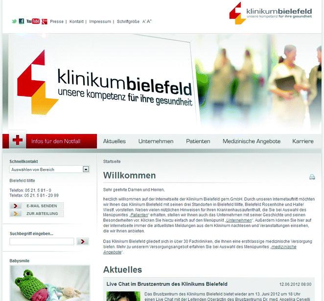 Die Krankenhaus-Website | SpringerLink