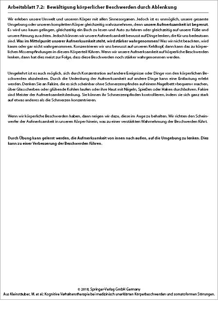 Modul 3: Aufmerksamkeit | SpringerLink