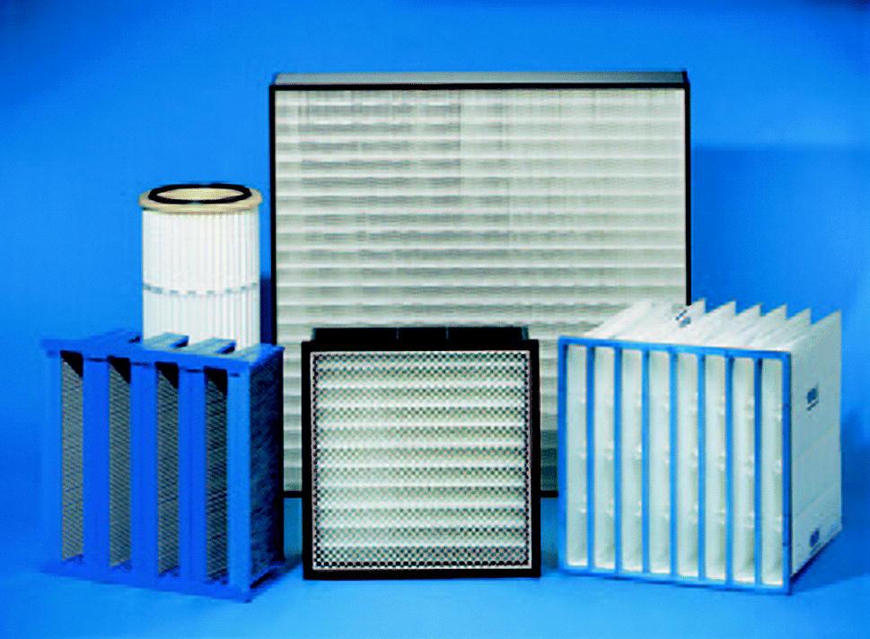 Taschenfilter Feinfilter Luftfilter in Lufttechnischen Geräten Filter M5