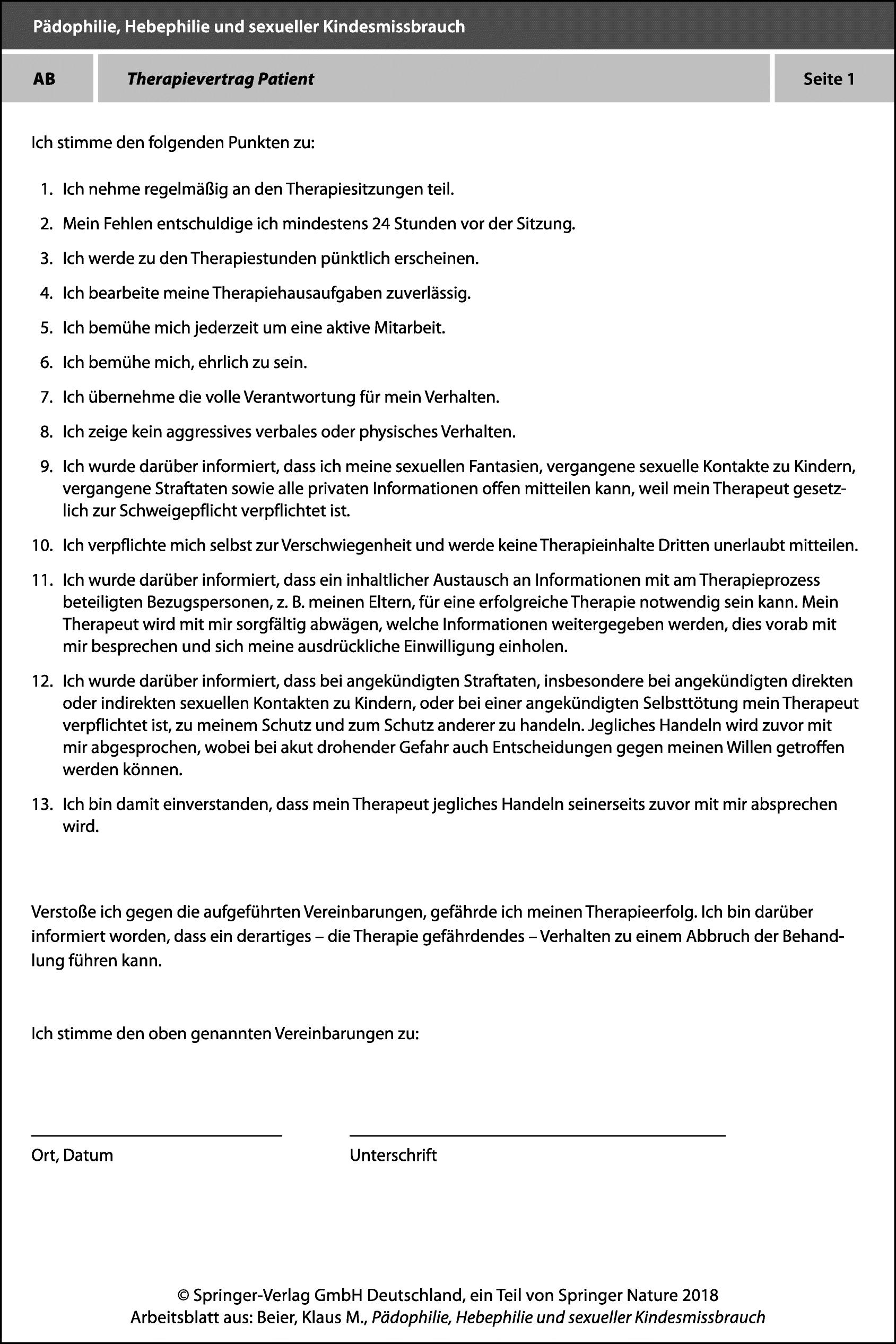 Arbeitsblätter BEDIT-A | SpringerLink