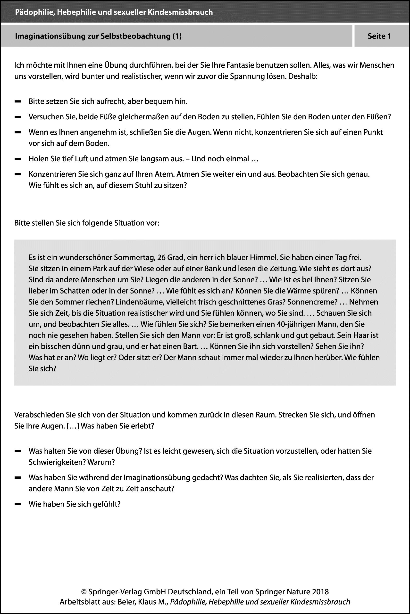 Arbeitsblätter BEDIT   SpringerLink