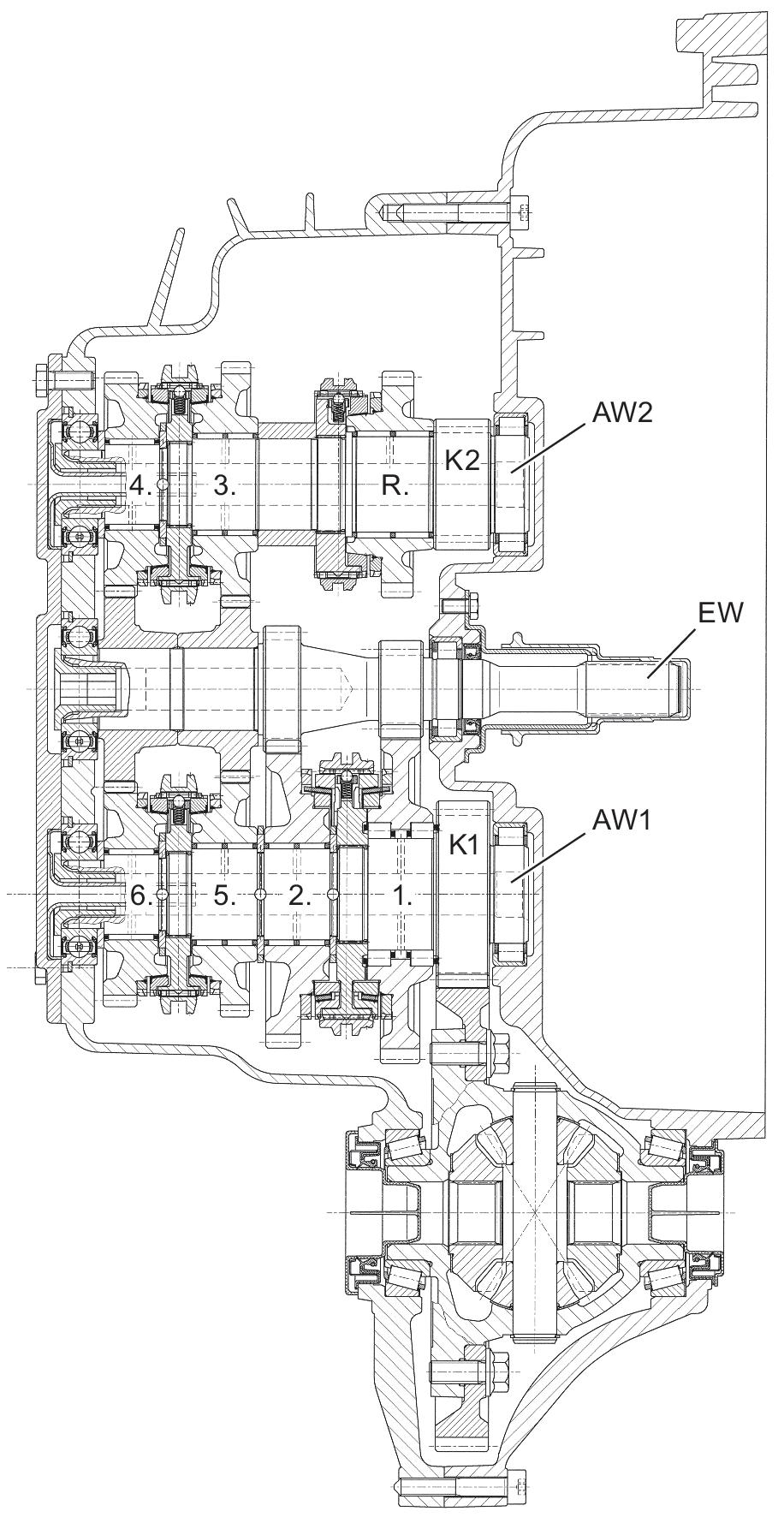 Beispiele ausgeführter Konstruktionen von Fahrzeuggetrieben ... on