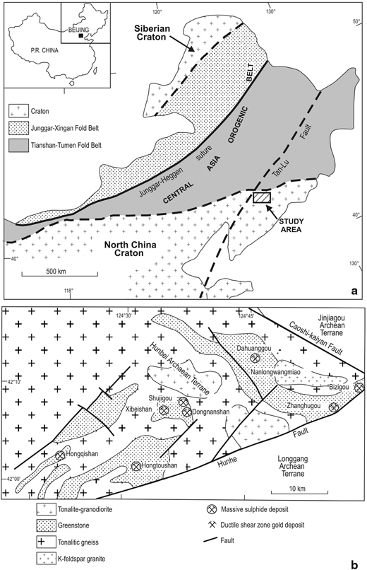 North China and Tarim Cratonic Blocks | SpringerLink